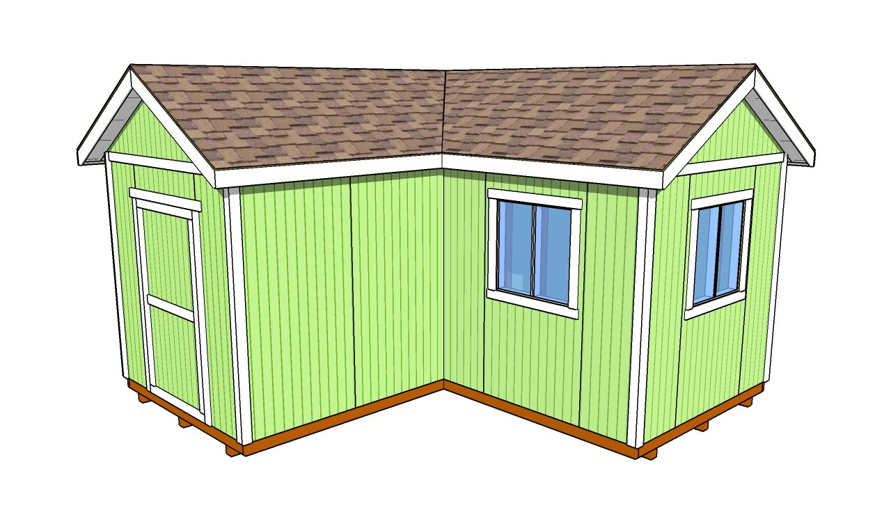How to build a shed door howtospecialist how to build for L shaped shed