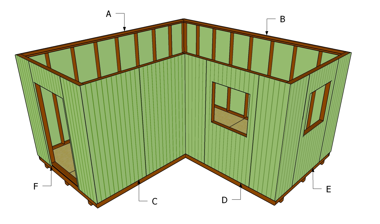 ^ How to build a lean to roof for shed, how to install shed siding