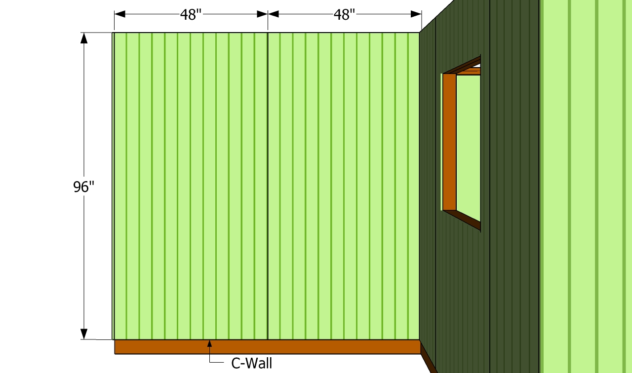 How To Install Siding On A Shed Howtospecialist How To Build Step By Step Diy Plans