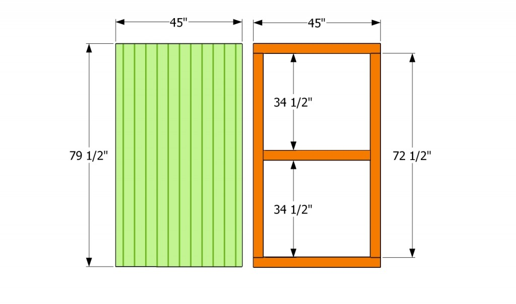 How To Build A Shed Door Howtospecialist How To Build