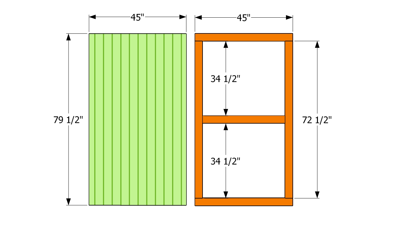 How To Build A Shed Door