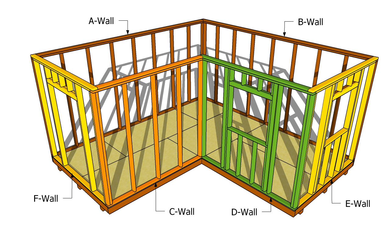 ... to build a small shed How to build a workshop How to build a barn shed