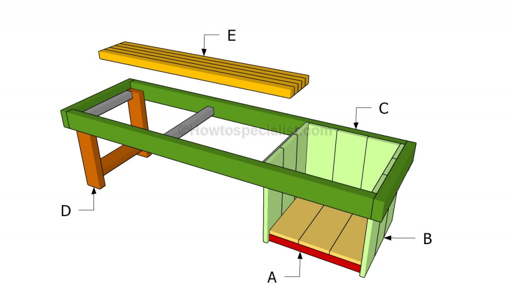 Buidling a planter bench