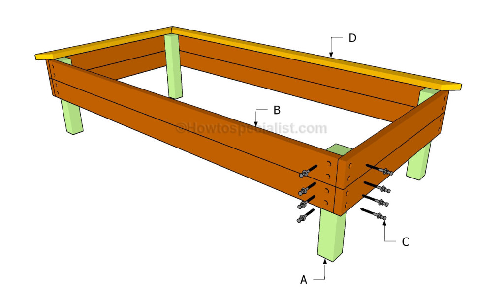 How To Build A Raised Garden Bed Howtospecialist How To Build Step By Step Diy Plans
