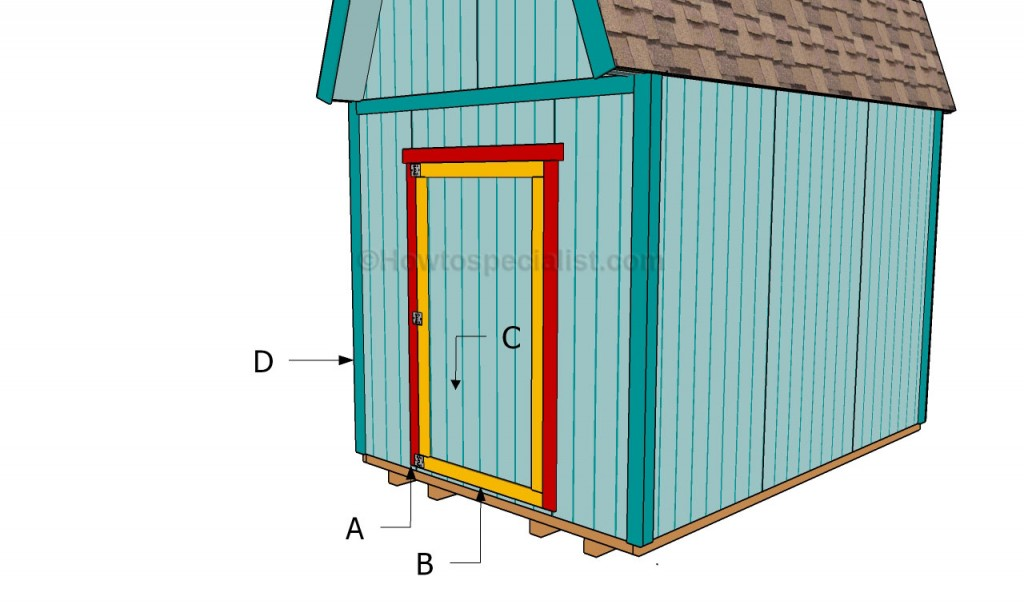 Buidling a shed door