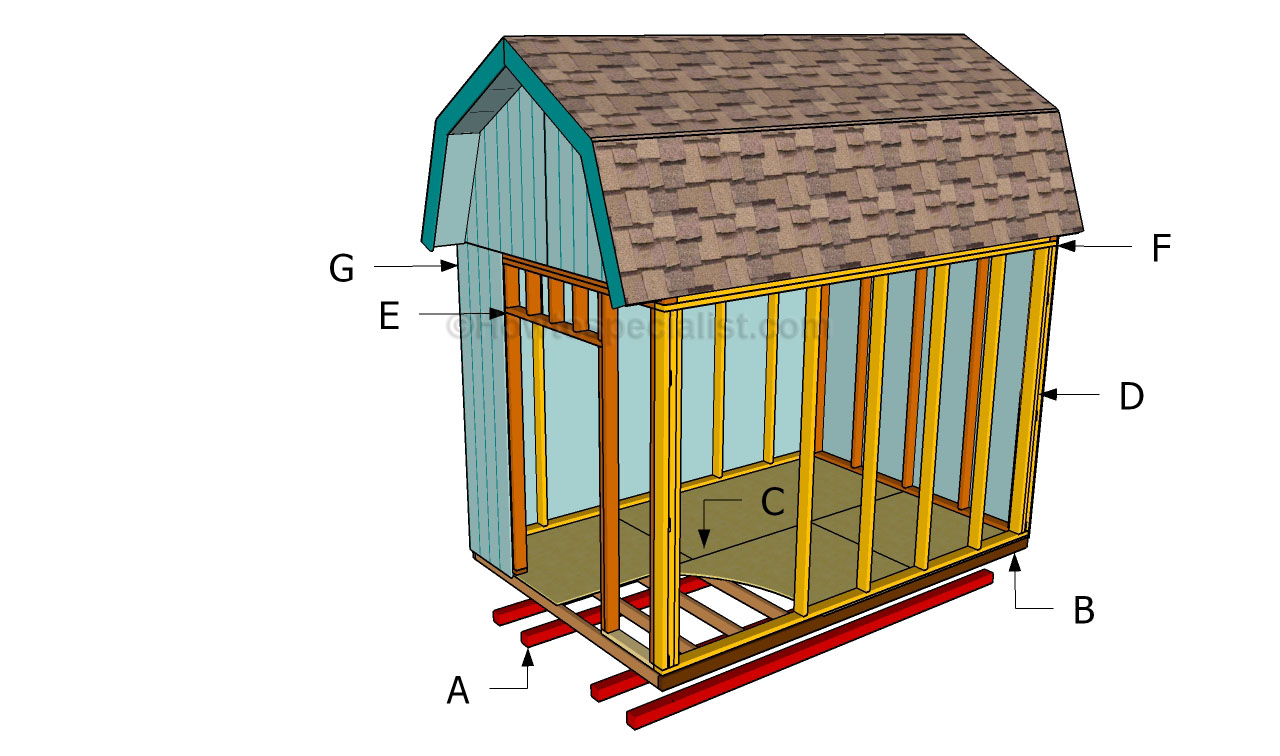 How to build a barn shed | HowToSpecialist - How to Build, Step by Step DIY Plans