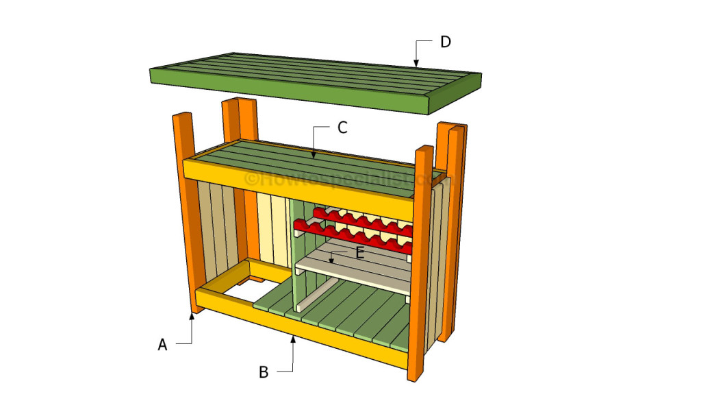 how to build an outdoor bar howtospecialist how to build step by