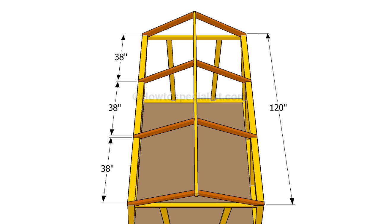 How to build a small greenhouse howtospecialist how to build step by step diy plans - How to build a wooden greenhouse ...