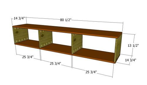 Building the storage units