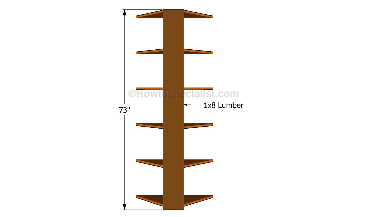 Wood Shelf Designs For Your Corner Solid Oak Corner Shelves by Tom Dr.