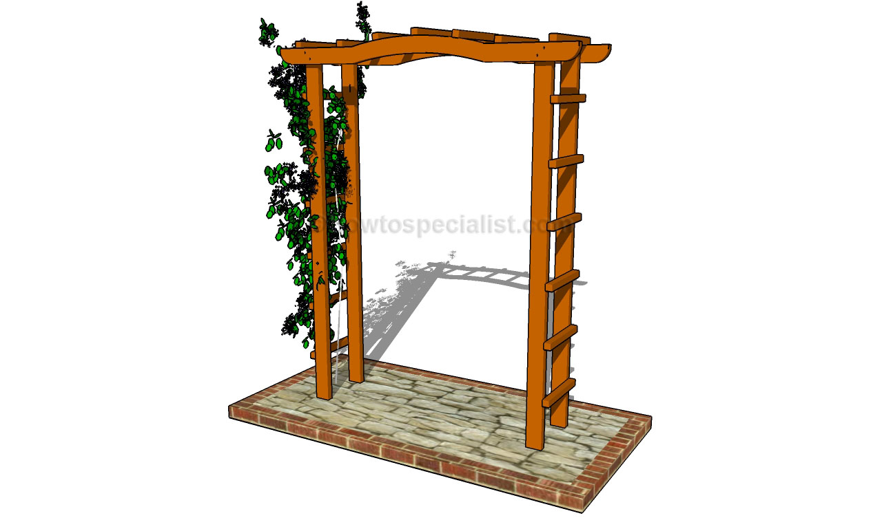 How To Build A Outdoor Arbor