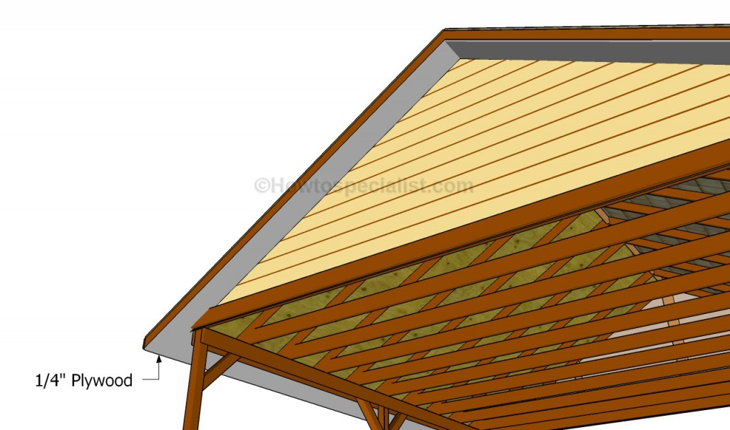 how to build a soffit