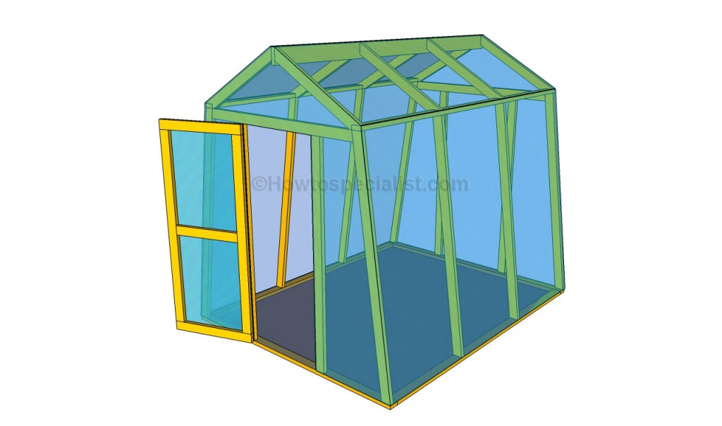 Build Small Greenhouse Greenhouse Plans Likewise Greenhouse Guest House As Well DIY Small