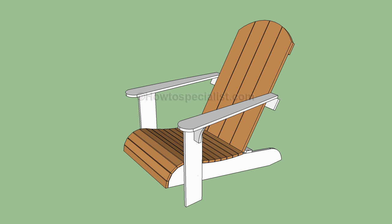 Outdoor Chair Building Plans