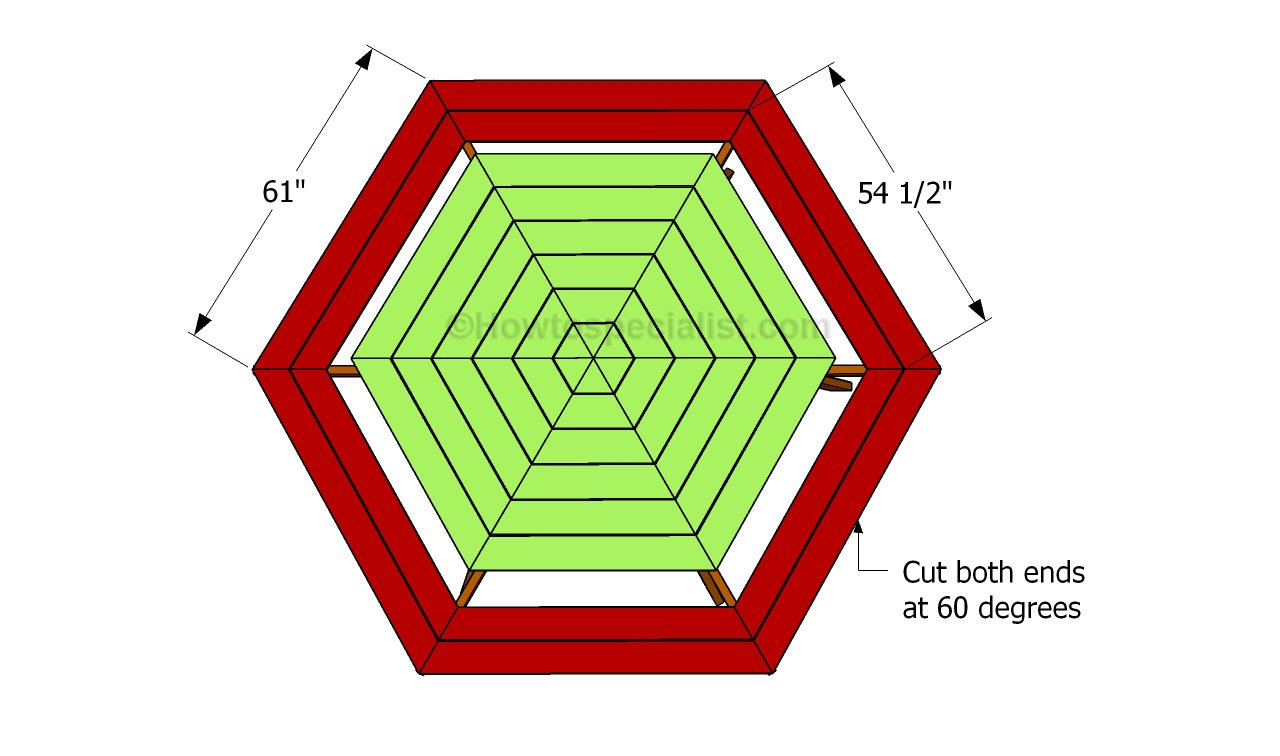 How To Build A Hexagon Table Howtospecialist How To