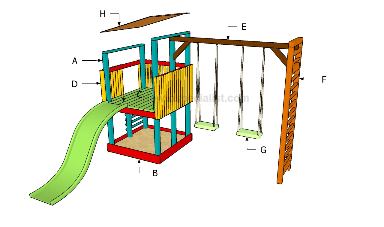 woodworking diy playground design plans plans pdf download
