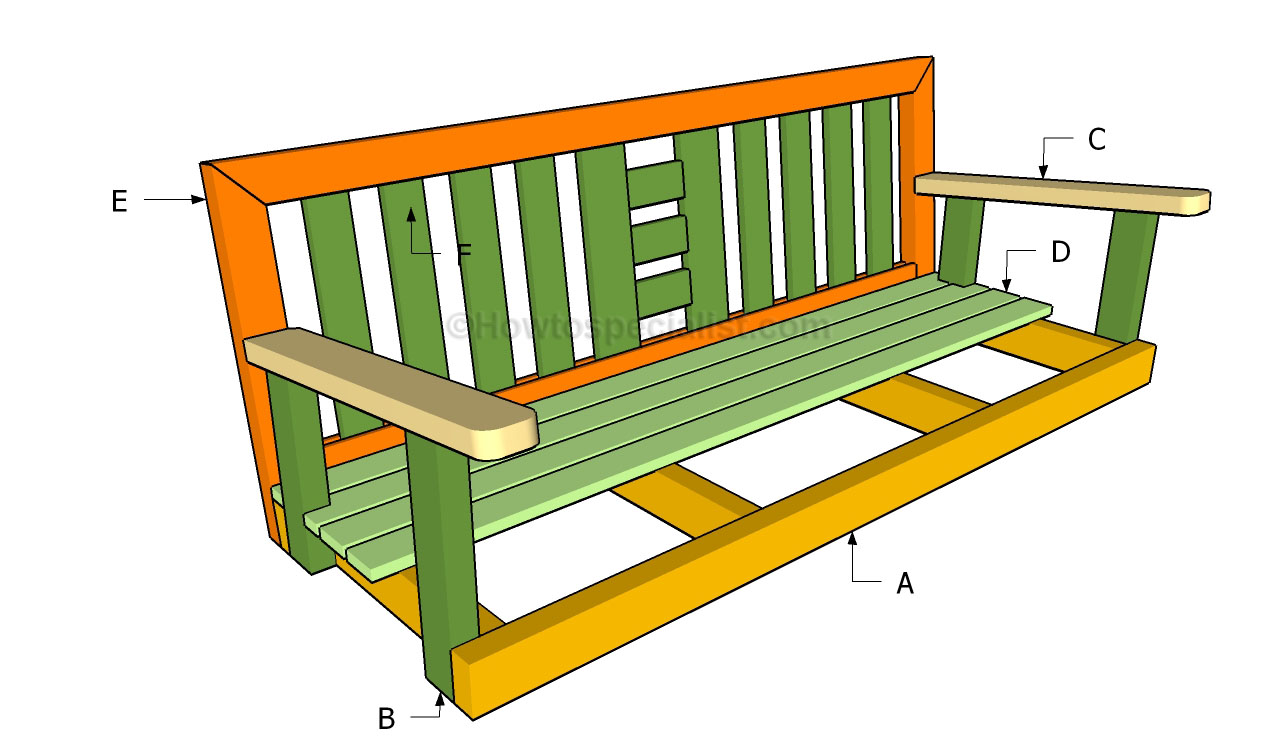 Wood Porch Swing Diy