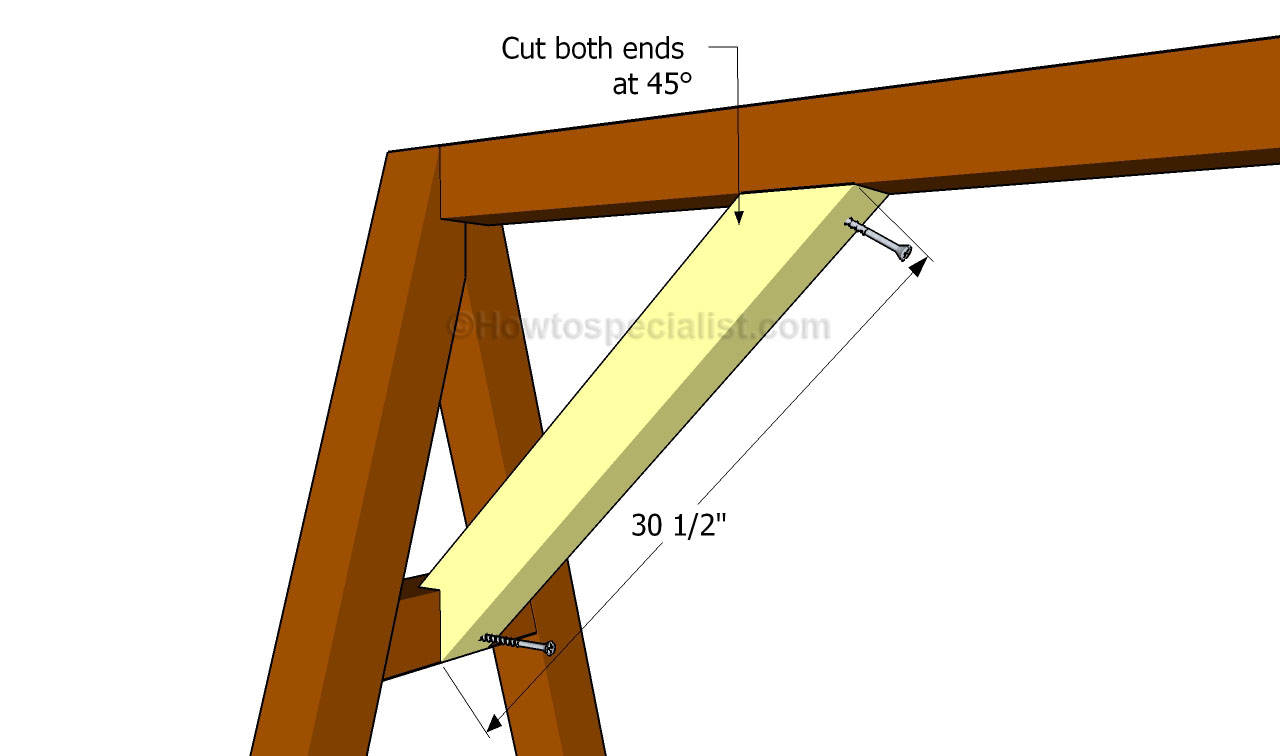 How to build an a-frame swing | HowToSpecialist - How to Build, Step ...