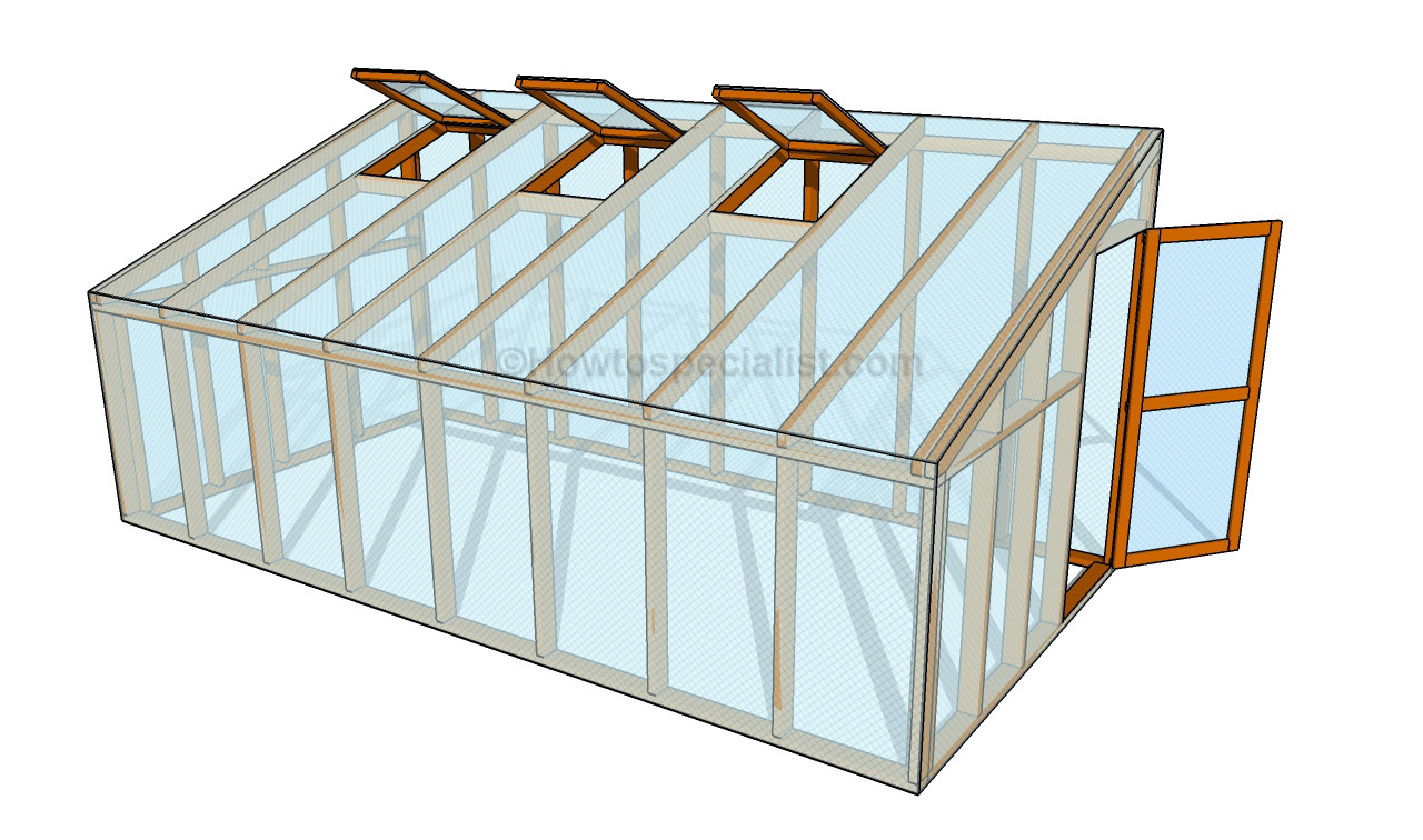 How To Build A Lean To Greenhouse