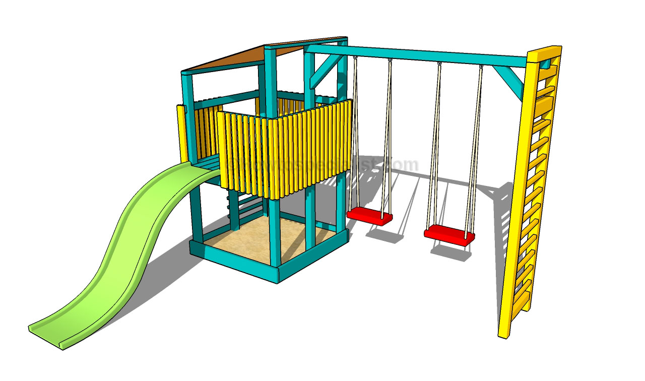 Diy Playground Design Plans