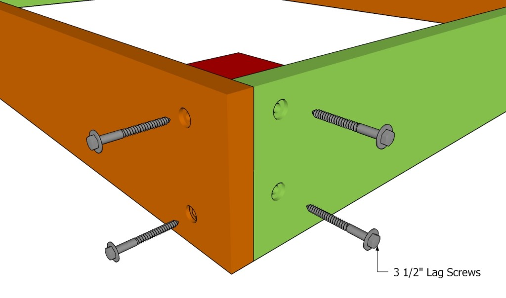 Making the corner joints
