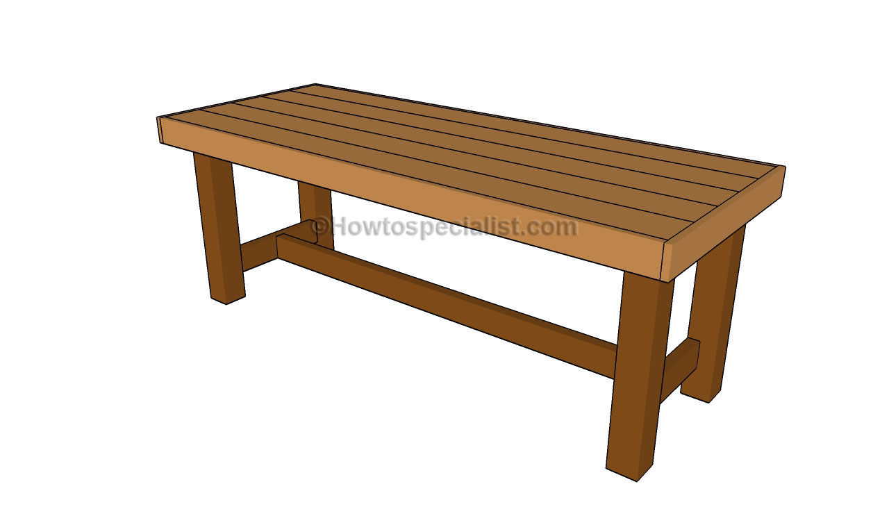Backyard Table Plans : Patio table