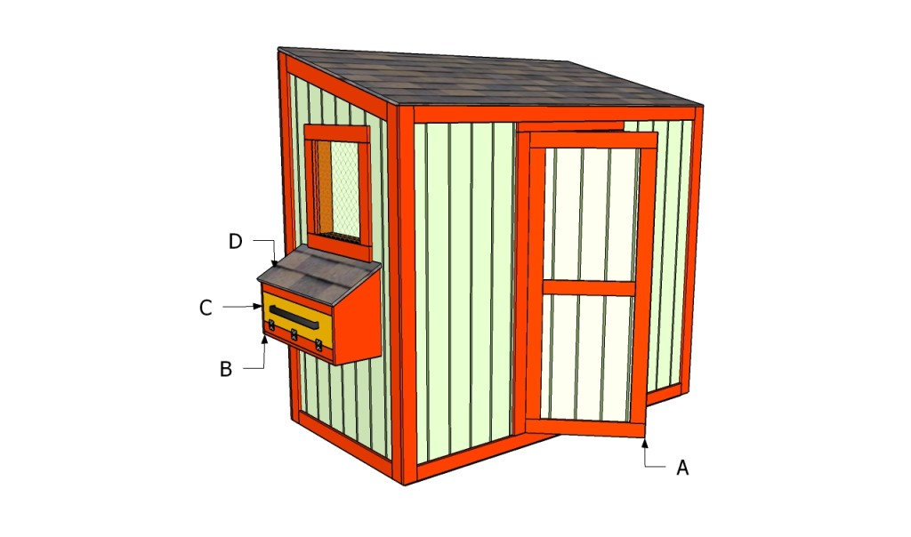 Buidling a chicken coop
