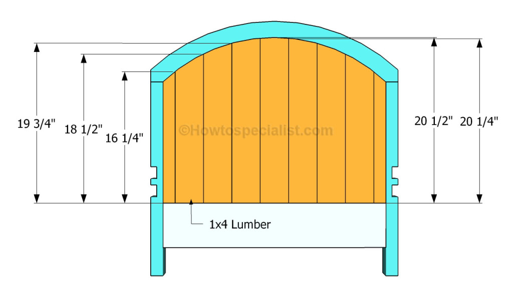 Buidling the headboard