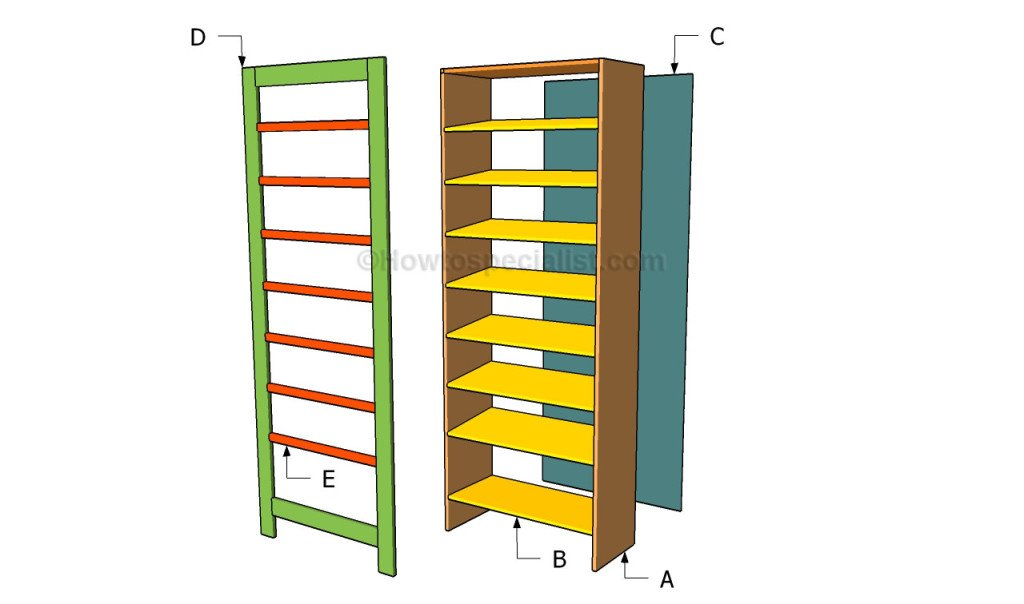shoe storage building plans
