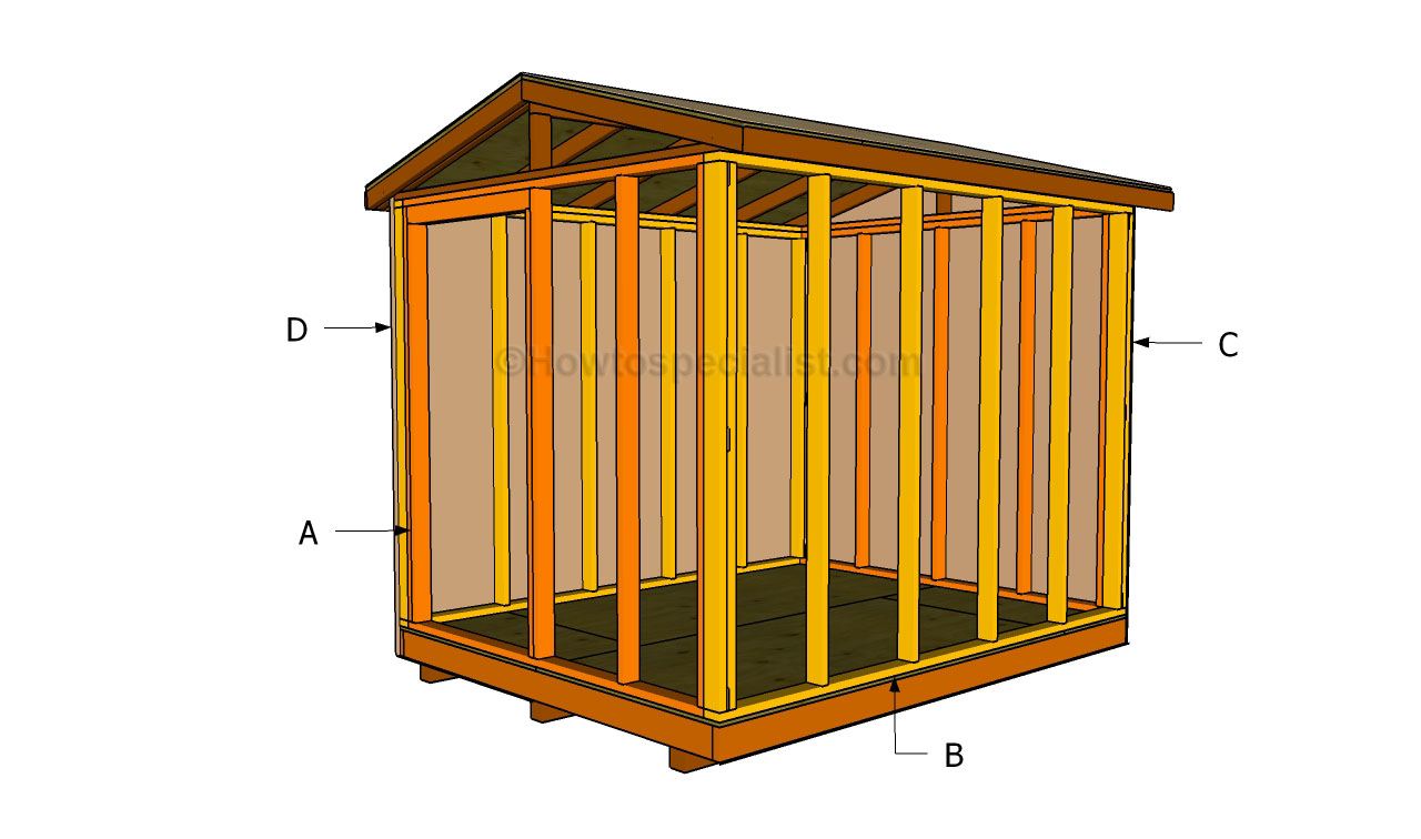 How to build a small shed howtospecialist how to build for Shed construction