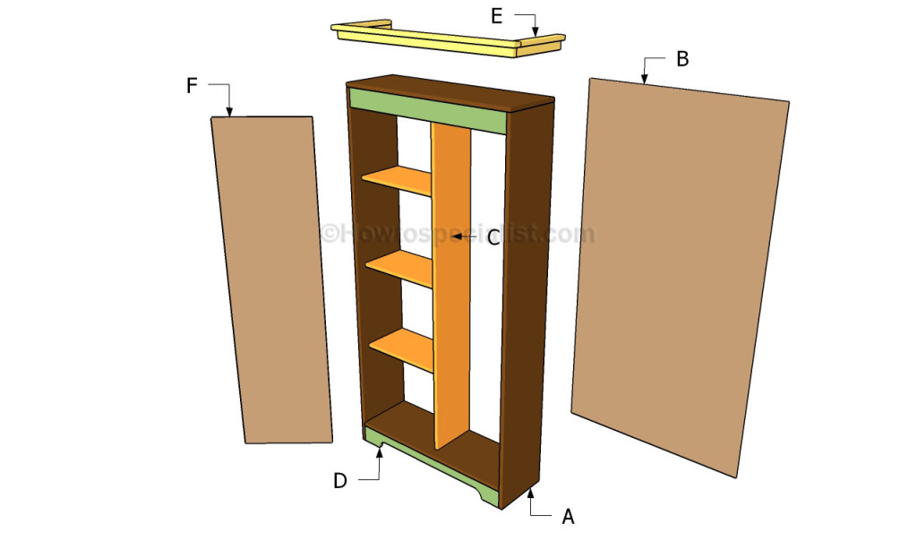 Plans To Make A Wardrobe ~ How to build an armoire wardrobe howtospecialist