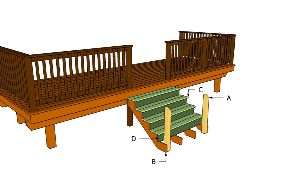 To build porch stairs howtospecialist how to build step by step