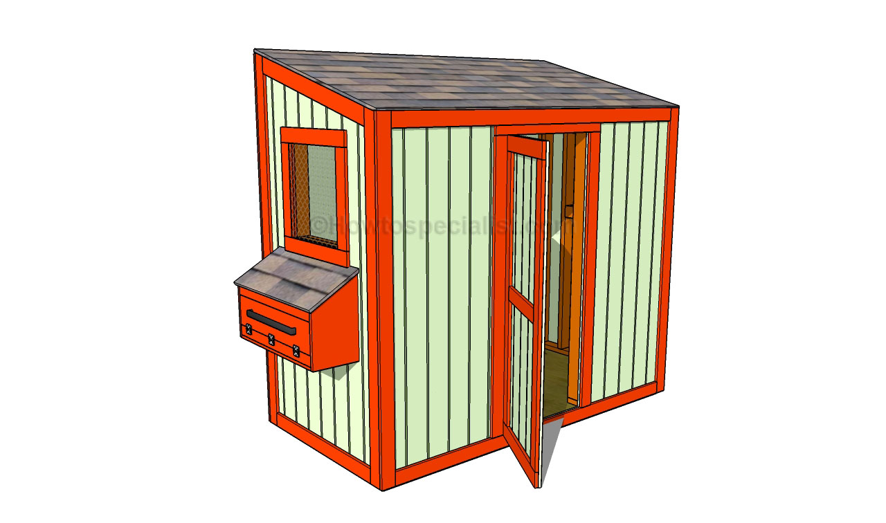 How to build a chicken coop free plans