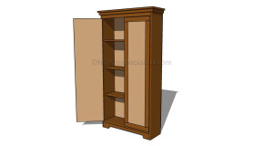 How to build an armoire wardrobe