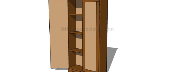 armoire furniture plans to build