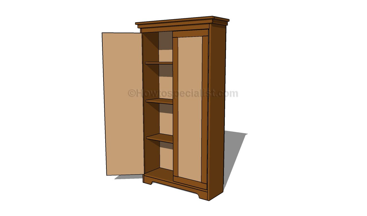 how to make an armoire
