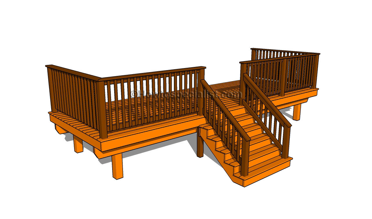 How to build a porch stair railing   HowToSpecialist   How to ...