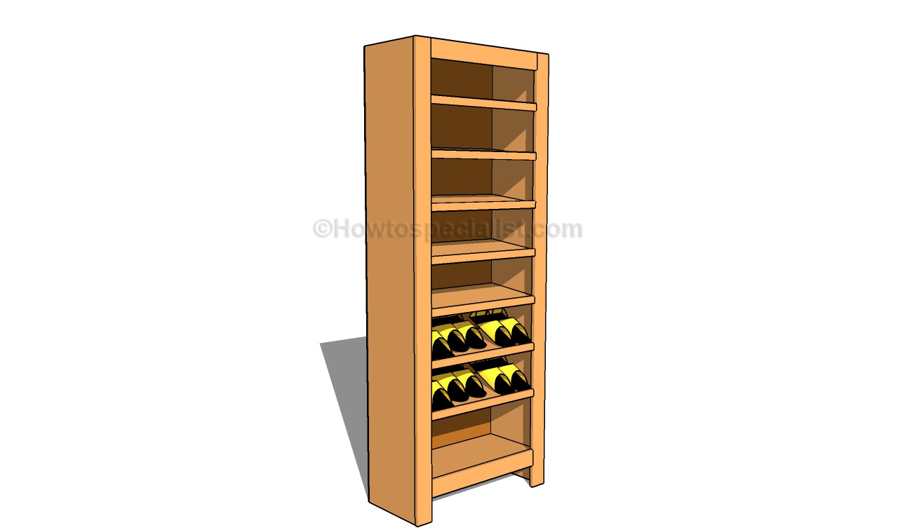 shoe rack storage plans