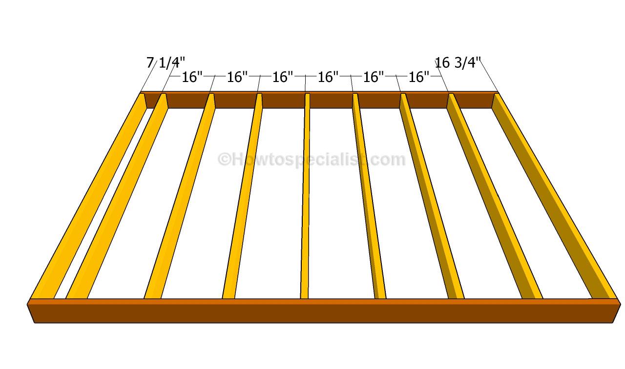 Floor joist spacing