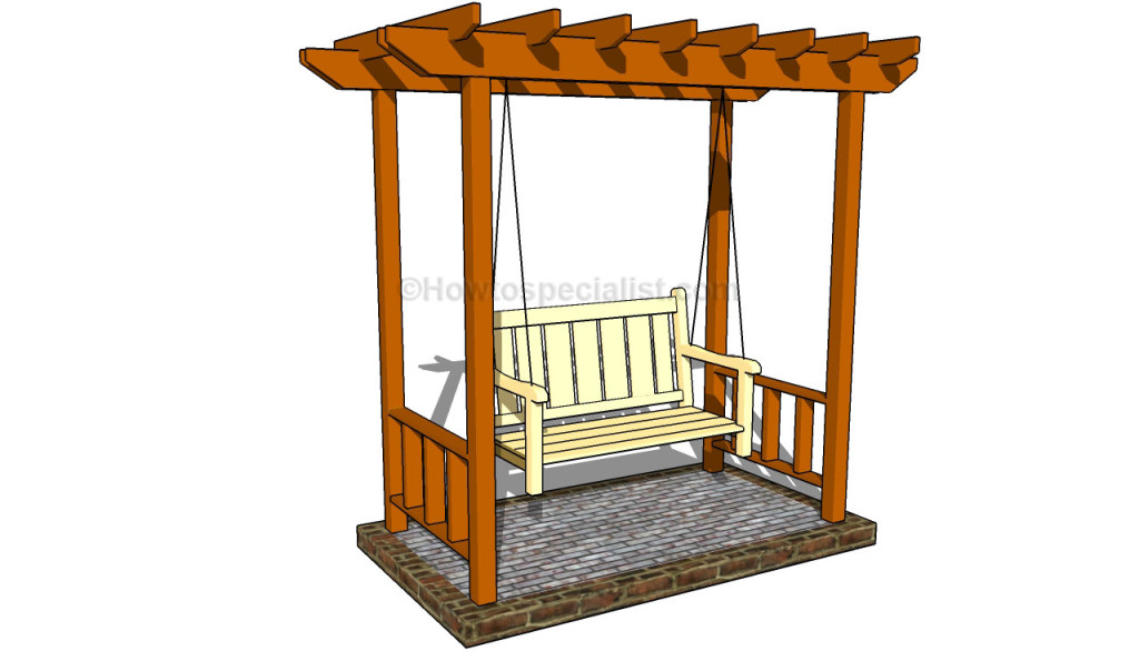 Garden arbor designs howtospecialist how to build step by step diy plans - Building a garden swing seat in easy steps ...