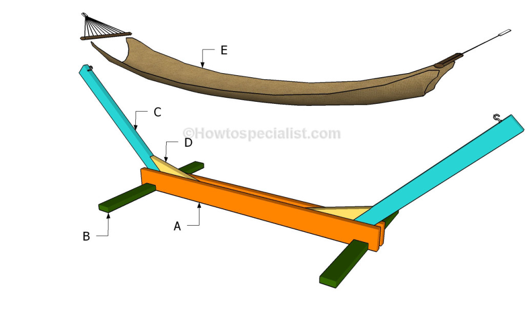 How To Build A Hammock Stand Howtospecialist How To