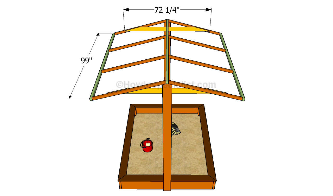 How To Build A Sandbox With Cover Howtospecialist How