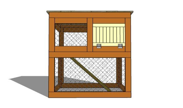 DIY rabbit hutch