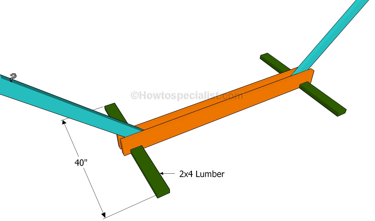 How to build a hammock stand | HowToSpecialist - How to Build ...