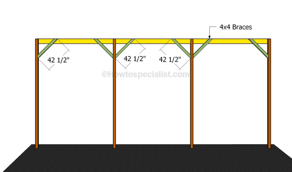 Build A Rv Cover : How to build a wooden carport howtospecialist