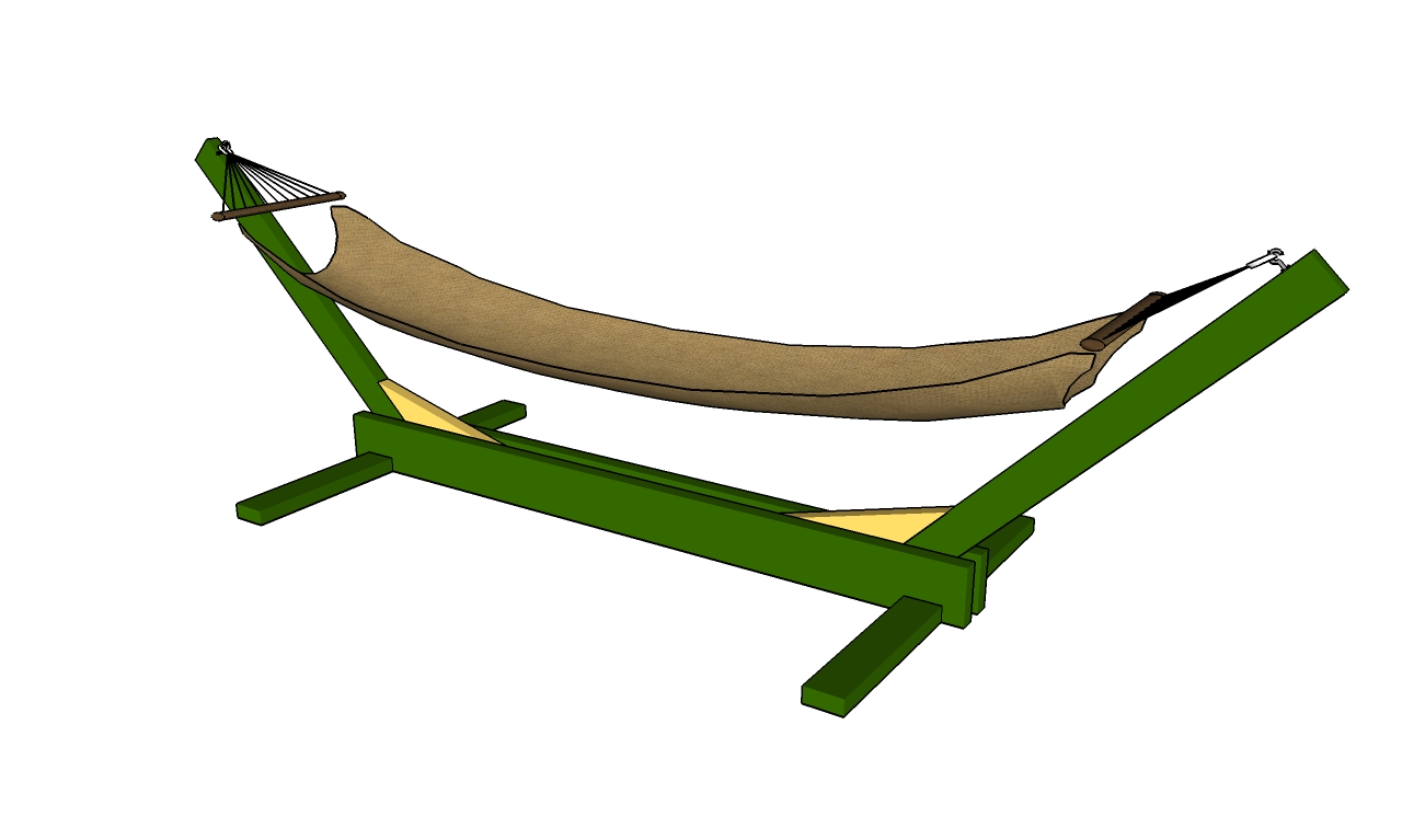 Pdf diy hammock stand plans download easy entertainment for How to make a bed stand