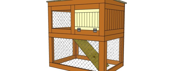 Easy rabbit hutch design free download pdf woodworking for Simple rabbit hutch