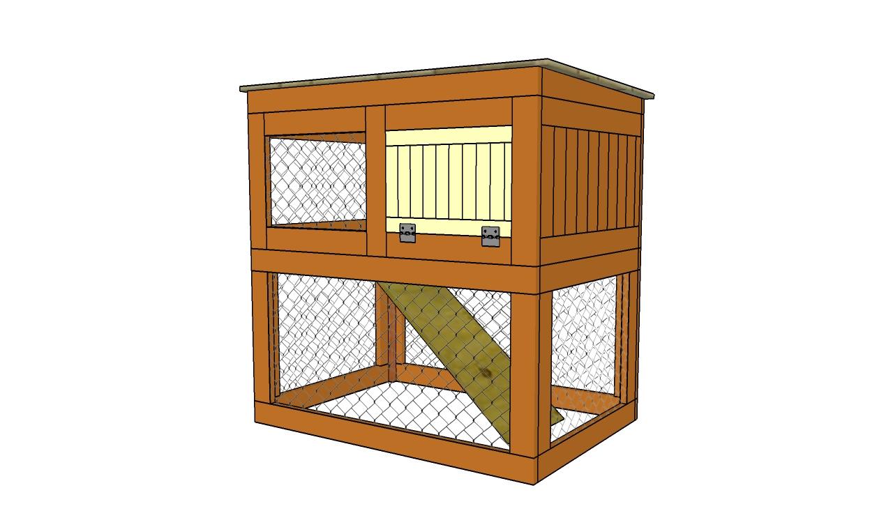 Diy rabbit hutch designs Plans PDF Download Free do it yourself bench ...