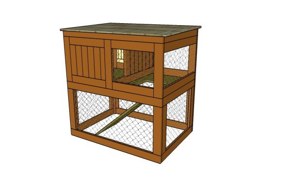 how to build a rabbit hutch step by step howtospecialist