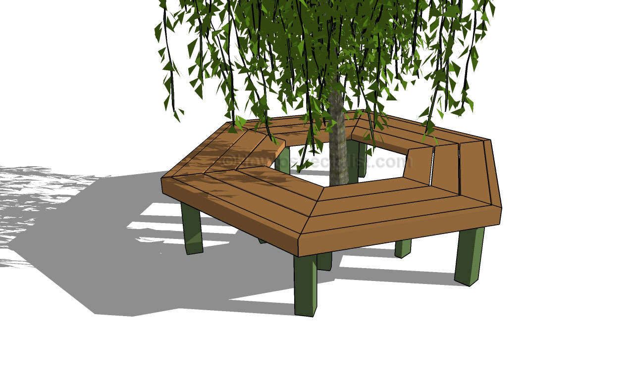 ... additionally Tree Benches. on plans for hall bench seat with storage
